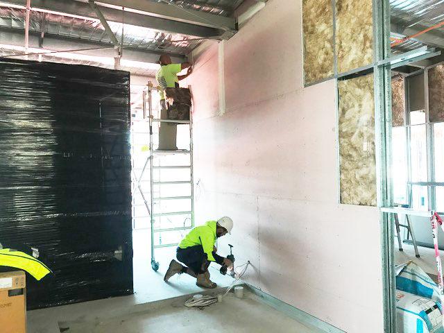 Plastering products